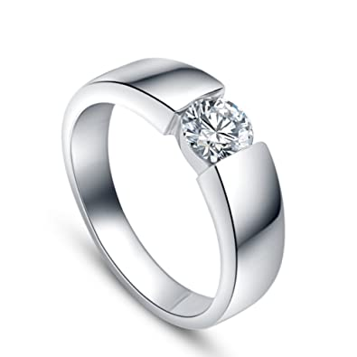 MARENJA Silver Wedding & Engagement Collection Women s 925