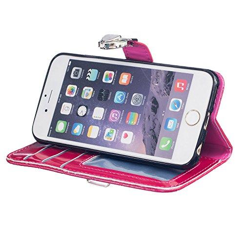 Meet de journal Bike pour Apple iPhone 6 Plus / iphone 6S Plus Case, Folio pour Apple iPhone 6 Plus / iphone 6S Plus PU Housse,Wallet / flip étui / Pouch / Case / Holster / Wallet / Case en cuir Walle