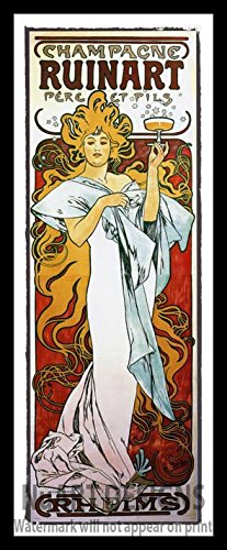 framed-vintage-art-nouveau-advertisement-reproduction-giclee-poster-champagne-ruinart-pere-et-fils