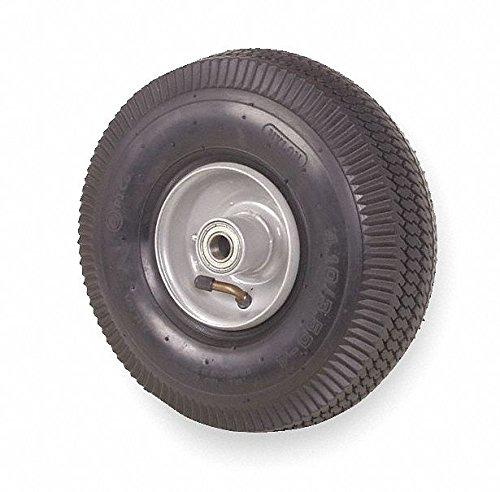 10'' Light-Duty Sawtooth Tread Pneumatic Wheel, 230 lb. Load Rating