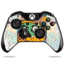 MightySkins Skin for Microsoft Xbox One or One S Controller - Zombie Attack | Protective, Durable, and Unique Vinyl Decal wrap Cover | Easy to Apply, Remove, and Change Styles | Made in The USA