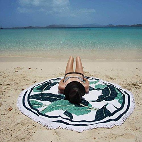 Angerella Atractivo de las mujeres Ver-Por la ropa de playa de la gasa de encubrimientos kimono Cardigan Verde(Floral)