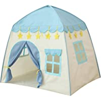 TOYANDONA Princess Castle Play Tent Foldable Children Playhouse Baby Crawl Teepee Tent Toddler Ball Ocean Pool Ball Pit…