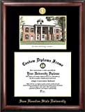 Campus Images ''Sam Houston State Embossed Diploma'' Frame with Lithograph Print, 11'' x 14'', Gold