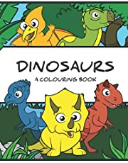 Dinosaurs: A Colouring Book