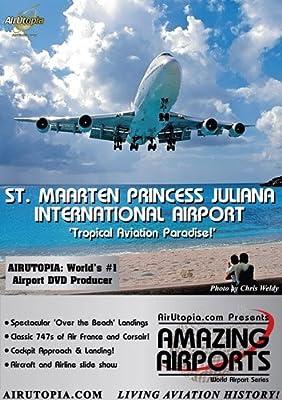AirUtopia.com:St. Maarten Princess Juliana Airport Video DVD-(Airport, airliner, plane, airplane, aircraft FILM)