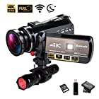 4K Wifi Full Spectrum Camcorders, Ultra HD Infrared Night Vision Paranormal