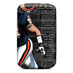 High Quality Shock Absorbing Case For Galaxy S3-chicago Bears