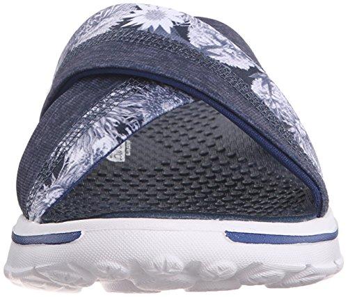 Go Donna Fiji Nvw Blu Walk Skechers Scarpa OdFqCww