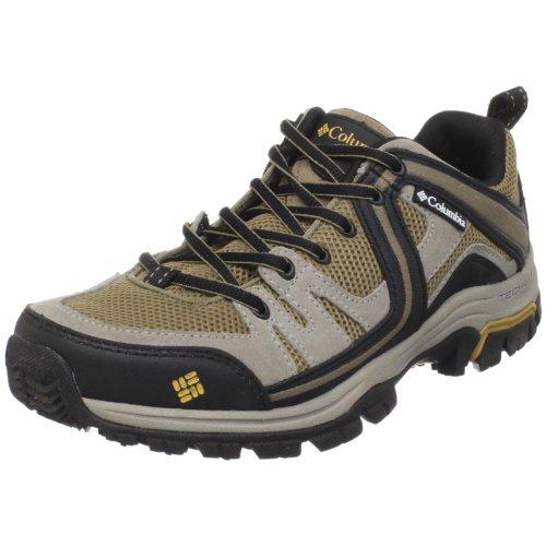 Columbia Men's Shastalavista Trail Shoe,Lead Grey/Honey Mustard,11.5 M US