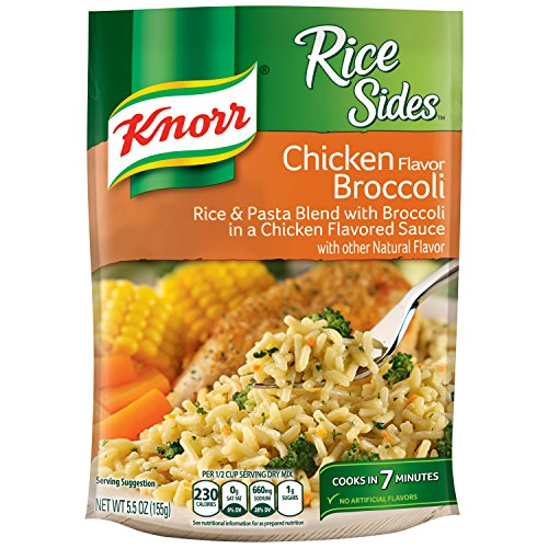 Rice Side Dishes (Knorr Rice Sides Rice Sides Dish, Chicken Broccoli 5.5 oz)