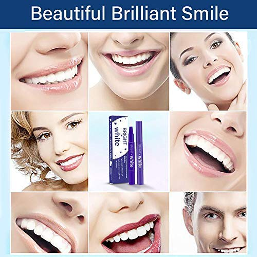 Teeth Whitening Pen – 2 Pcs Value Pack, 18+ Uses, Whitening Treatments, No Sensitivity, Travel-Friendly, Effective, Painless, Beautiful White Smile, Effective Remove Yellow Teeth, Coffee Stains etc. by O-CONN (Image #6)
