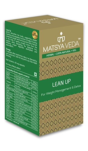 MATSYAVEDA Herbals – LEAN-UP (for Weight Loss and Detox) – 60 capsules Review