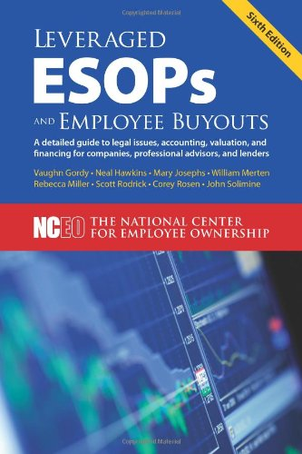 Download Leveraged ESOPs and Employee Buyouts, 6th ed  book
