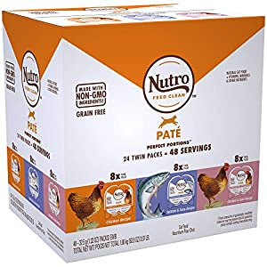 10. NUTRO Perfect PORTIONS Grain Free Wet Cat Food