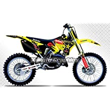 KUNGFU GRAPHICS 2001-2008 Suzuki RM125 RM250 Complete Graphic Decal Kit