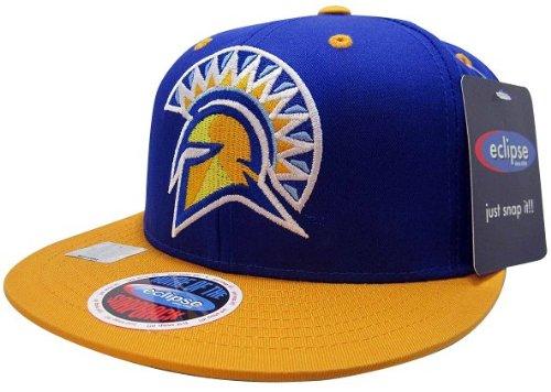 NCAA San Jose State Spartans Mascot Style Snapback Hat, - State Hat San Jose