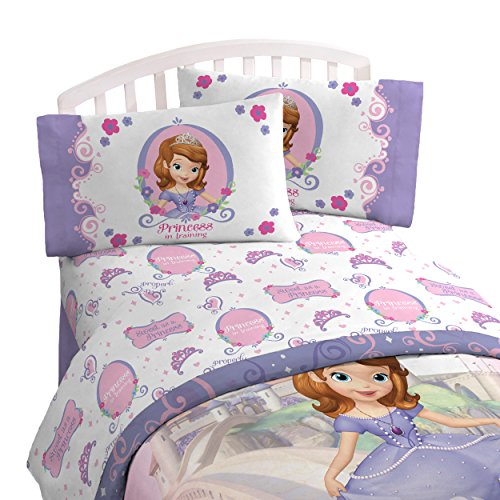 Disney Sofia The First 'Introducing Sofia' 3 Piece Twin Sheet Set