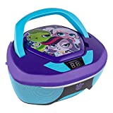 Pop in your favorite CD and rock out to your favorite songs with the Littlest Pet Shop CD Boombox. Featuring your favorite Pet Shop characters, this boombox is truly one-of-a-kind. Stylish and portable, this boombox is perfect for any occasion that c...