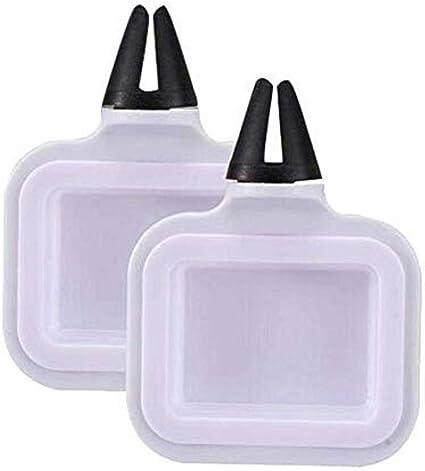 Hearthrousy Auto Soßenhalter 2 Stück Soßenhalter Im Auto Soßenschale Für Ketchup Dip Saucen Tragbar Küche Haushalt