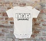 I Cry Periodically Chemistry Onesie, Nerdy Onesie, Science Onesie, Chemistry Onesie, Boho Baby Onesie, Funny Onesie