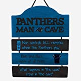 FOCO Carolina Panthers NFL Mancave Team Logo Man