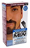 Facial Hair Dye - Just For Men Mustache & Beard Brush-In Color Gel, Deep Dark Brown (Packaging May Vary)