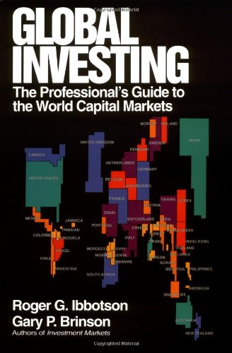 Download Global Investing: The Professional's Guide to the World Capital Markets Pdf