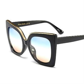 YKDDGG Gafas de Sol Gafas de Sol de Gran tamaño para Mujer ...