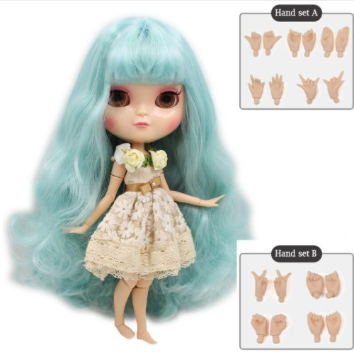Dream fairy ICY dolls Fortune Days Toys 12 inch nude doll with natural skin and small breast joint body like blythe. (280BL40066005, 30cm)