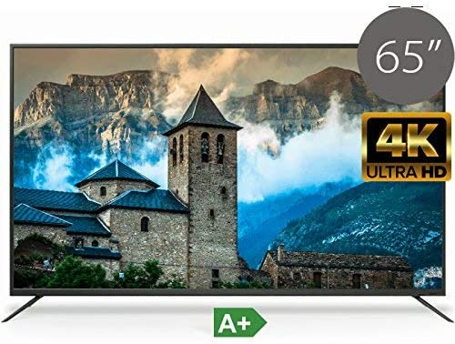 TD Systems K65DLM6U 65 Pulgadas LED UltraHD 4K Televisor (Resolución 3840 x 2160/VGA 1/HDMI 3/Eur 1/ USB 2): Amazon.es: Electrónica