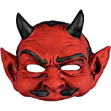 Devil Mask Evil Demon Satan Halloween Costumes Adult