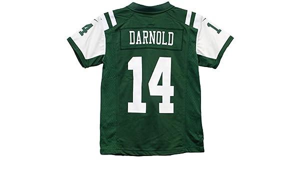 brand new 5a2b4 73d8e Amazon.com : Nike Sam Darnold New York Jets Team Color Youth ...