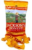 Jackson's Honest Sweet Potato Chips, Cooked in Coconut Oil, Paleo Friendly, 5 Oz, (4 Pack) by Jackson's Honest