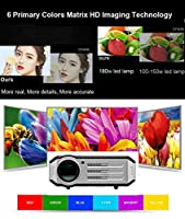 1080p LED Video Projector,Gzunelic 3600 lumens Full HD home Theater Proyector, Hi-Fi speakers built in,Adopt 6 Primary Colors Matrix HD imaging technology with 2 HDMI 2 USB VGA AV Audio Interfaces from Guangzhou Guoen Commercial co.,Ltd