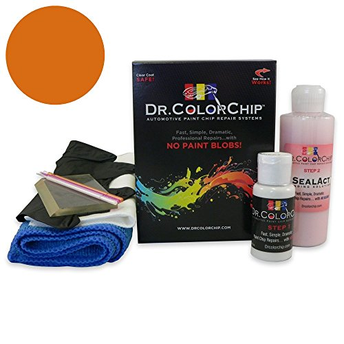 - Dr. ColorChip Dodge Caliber Automobile Paint - Hemi Orange Pearl V6/DV6 - Squirt-n-Squeegee Kit