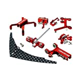 CNC Tail Performance Package, Red: Blade 130 X