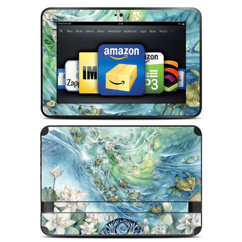 Cancer Design Protective Decal Skin Sticker (Matte Satin Coating) for Amazon Kindle Fire HD 89 inch (released 2012) eBook Reader