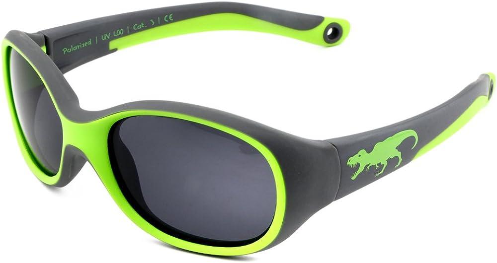 ActiveSol gafas de sol | NIÑO | 100% protección UV 400 | polarizadas | irrompibles, de goma flexible | 2-6 años | 22 gramos | REGALO DE NAVIDAD