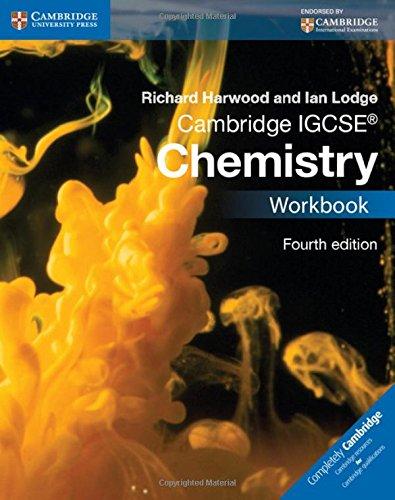 Cambridge IGCSE® Chemistry Workbook (Cambridge International IGCSE)