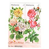 Roses Souvenir Sheet / Malaysia issued in 2003 / MNH / Flora Flowers Stamps for Collectors