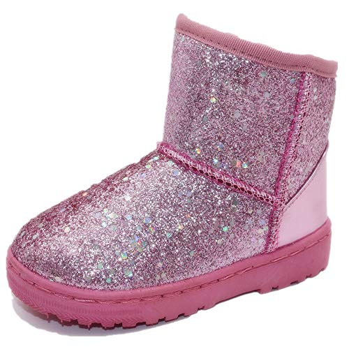 Sequin Boots Girls - Elcssuy Toddler Girls Boots Fur Lined