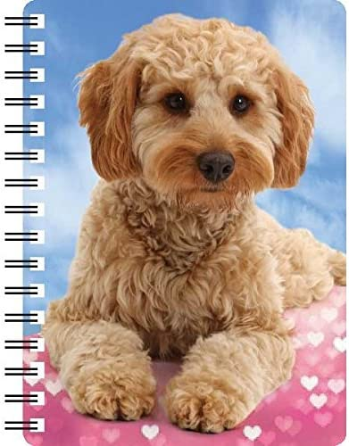 3D Notebook Black Poodle Poodle