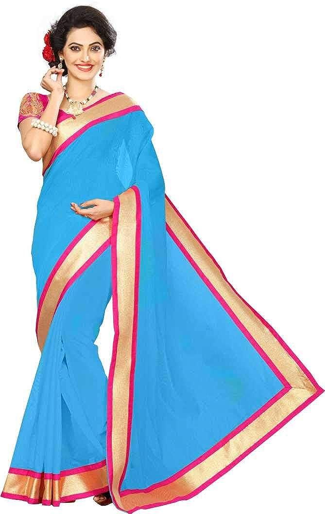 Indische Bollywood Hochzeit Saree indische ethnische Hochzeit Sari Neue Kleid Damen l/ässig Tuch Geburtstag Ernte Top M/ädchen Frauen schlicht traditionelle Party Wear Readymade Kost/üm Pink