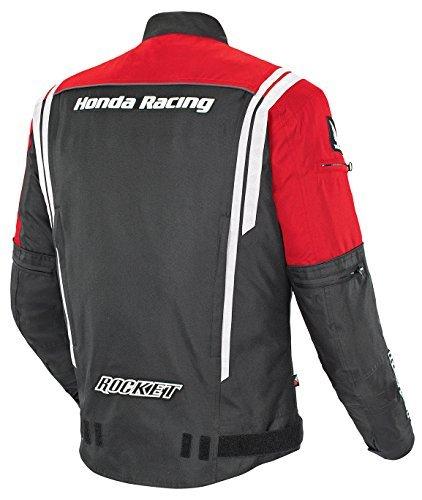 Joe Rocket Honda CBR Textile Jacket (MEDIUM) (RED/BLACK)
