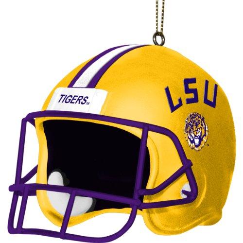 Tigers Helmet Ornament - NCAA LSU Fightin Tigers 3 Inch Helmet Ornament