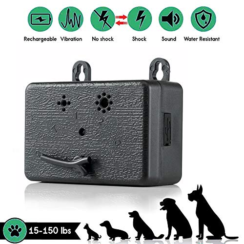 Bark Stopper - KAVALAN CLASSIC 【Newest Version 2019 Upgrade Rechargeable Mini bark Control Device Outdoor Anti-snoring ultrasonic Dog Skin Control Sonic bark Vacuum Cleaner Muffler Stop bark Repeller (A)