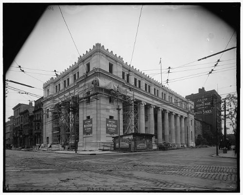 Photo  Western   Southern Life Insurance Company Construction Cincinnati Ohio Oh 1910