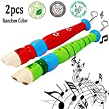 Best HOHNER 1year Old Toys - 2 pcs Colorful Musical Instrument Baby Kids Wooden Review