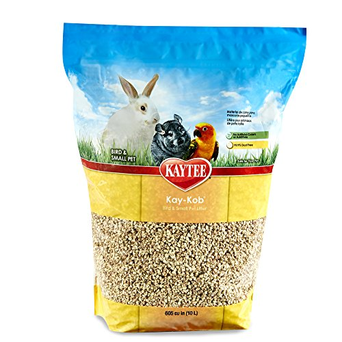 Kaytee Kay Kob Bedding for Birds, 8-Pound - Corn Cob Litter